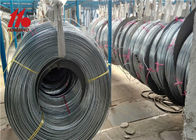 Low Carbon Galvanized Steel Pipe / Refrigerator Condenser Zinc Coated Tube